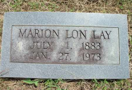 LAY, MARION LON - Texas County, Missouri | MARION LON LAY - Missouri Gravestone Photos
