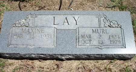 LAY, VESTER MURL - Texas County, Missouri | VESTER MURL LAY - Missouri Gravestone Photos