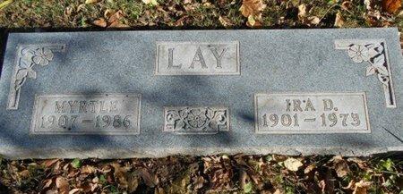 LAY, IRA D. - Texas County, Missouri | IRA D. LAY - Missouri Gravestone Photos