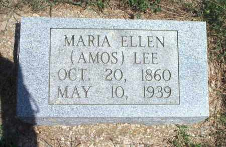 "LEE, MARIAH ELLEN ""MARIA"" - Texas County, Missouri 