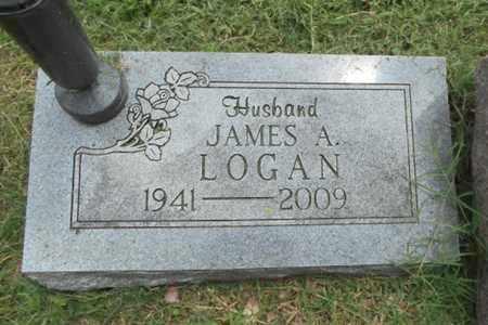 LOGAN, JAMES ABRAHAM - Texas County, Missouri | JAMES ABRAHAM LOGAN - Missouri Gravestone Photos