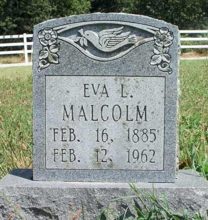 CLIFF MALCOLM, EVA L. - Texas County, Missouri | EVA L. CLIFF MALCOLM - Missouri Gravestone Photos