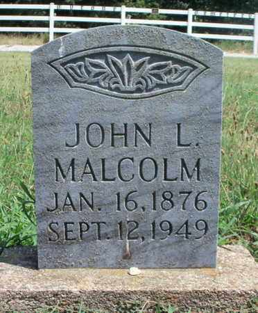 MALCOLM, JOHN LAWRENCE - Texas County, Missouri | JOHN LAWRENCE MALCOLM - Missouri Gravestone Photos