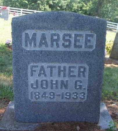 MARSEE, JOHN G. - Texas County, Missouri | JOHN G. MARSEE - Missouri Gravestone Photos