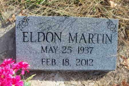 MARTIN, ELDON - Texas County, Missouri | ELDON MARTIN - Missouri Gravestone Photos