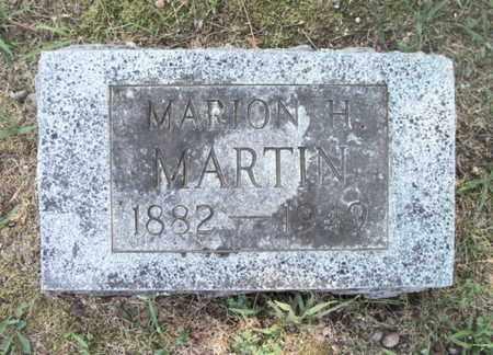 MARTIN, MARION HENRY - Texas County, Missouri   MARION HENRY MARTIN - Missouri Gravestone Photos