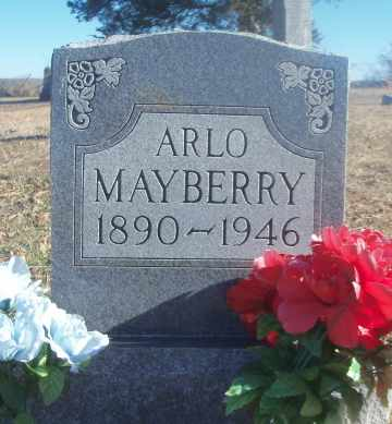 "MAYBERRY, ARLANDO ""ARLO"" - Texas County, Missouri 