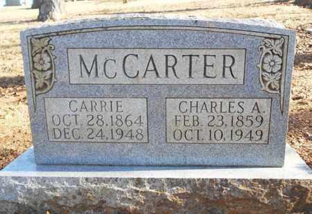 MCCARTER, CHARLES ALVA - Texas County, Missouri   CHARLES ALVA MCCARTER - Missouri Gravestone Photos