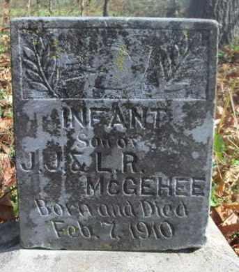 MCGEHEE, INFANT SON - Texas County, Missouri | INFANT SON MCGEHEE - Missouri Gravestone Photos