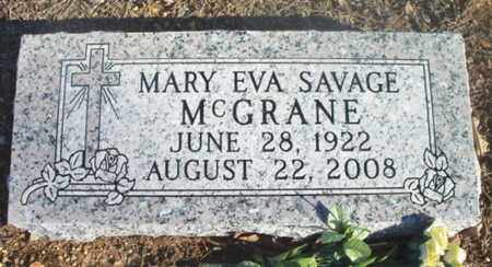 SAVAGE MCGRANDE, MARY EVA - Texas County, Missouri   MARY EVA SAVAGE MCGRANDE - Missouri Gravestone Photos
