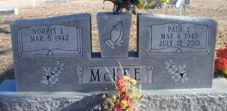 MCKEE, PAUL E. - Texas County, Missouri | PAUL E. MCKEE - Missouri Gravestone Photos