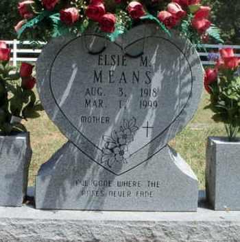 MEANS, ELSIE M. - Texas County, Missouri | ELSIE M. MEANS - Missouri Gravestone Photos