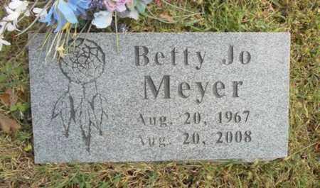 MEYER, BETTY JO - Texas County, Missouri | BETTY JO MEYER - Missouri Gravestone Photos