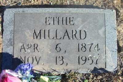 MILLARD, ETHIE - Texas County, Missouri | ETHIE MILLARD - Missouri Gravestone Photos