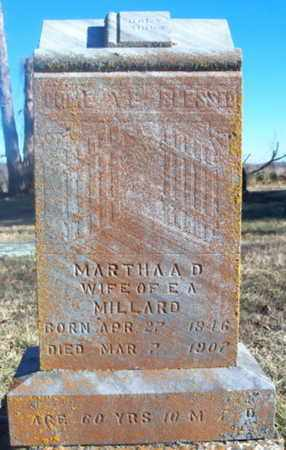 MILLARD, MARTHA A. - Texas County, Missouri | MARTHA A. MILLARD - Missouri Gravestone Photos