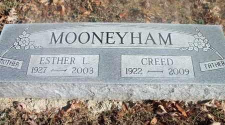 MOONEYHAM, ESTHER LEE - Texas County, Missouri | ESTHER LEE MOONEYHAM - Missouri Gravestone Photos