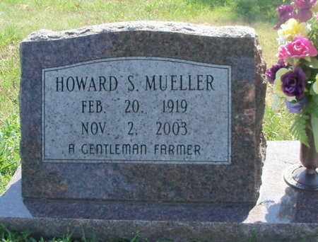 MUELLER, HOWARD STEPHEN - Texas County, Missouri | HOWARD STEPHEN MUELLER - Missouri Gravestone Photos