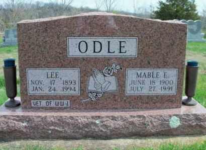 ODLE, MABLE ELLEN - Texas County, Missouri   MABLE ELLEN ODLE - Missouri Gravestone Photos