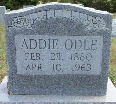 """HOGAN ODLE, SARAH ADELINE """"ADDIE"""" - Texas County, Missouri   SARAH ADELINE """"ADDIE"""" HOGAN ODLE - Missouri Gravestone Photos"""