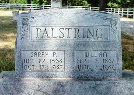 PALSTRING, SARAH PAULINE - Texas County, Missouri | SARAH PAULINE PALSTRING - Missouri Gravestone Photos