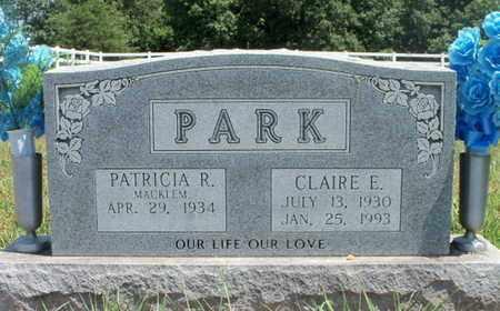 PARK, CLAIRE E. - Texas County, Missouri | CLAIRE E. PARK - Missouri Gravestone Photos