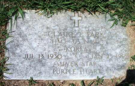 PARK, CLAIRE E. VETERAN KOREA - Texas County, Missouri | CLAIRE E. VETERAN KOREA PARK - Missouri Gravestone Photos