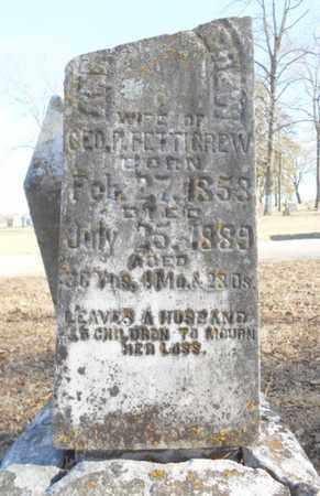 PETTIGREW, ANN AMERICA - Texas County, Missouri   ANN AMERICA PETTIGREW - Missouri Gravestone Photos