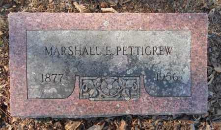 PETTIGREW, MARSHALL EDWIN - Texas County, Missouri | MARSHALL EDWIN PETTIGREW - Missouri Gravestone Photos