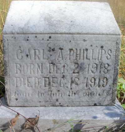 PHILLIPS, CARL A. - Texas County, Missouri | CARL A. PHILLIPS - Missouri Gravestone Photos