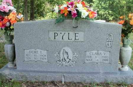 PYLE, DUKE ERWIN - Texas County, Missouri | DUKE ERWIN PYLE - Missouri Gravestone Photos