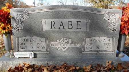 RABE, BARBARA ANN - Texas County, Missouri | BARBARA ANN RABE - Missouri Gravestone Photos
