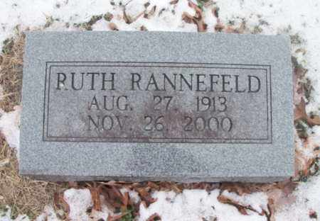 RANNEFELD, RUTH - Texas County, Missouri | RUTH RANNEFELD - Missouri Gravestone Photos