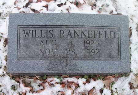 RANNEFELD, WILLIS - Texas County, Missouri | WILLIS RANNEFELD - Missouri Gravestone Photos