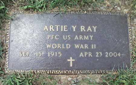 RAY, ARTIE YOUNG  VETERAN WWII - Texas County, Missouri | ARTIE YOUNG  VETERAN WWII RAY - Missouri Gravestone Photos