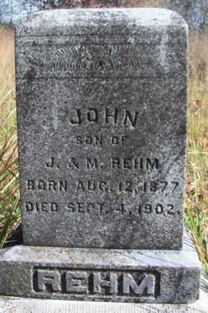 REHM, JOHN - Texas County, Missouri | JOHN REHM - Missouri Gravestone Photos