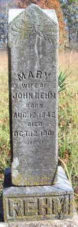 REHM, MARY - Texas County, Missouri   MARY REHM - Missouri Gravestone Photos