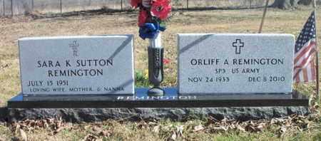 REMINGTON, ORLIFF ARCHIE VETERAN - Texas County, Missouri | ORLIFF ARCHIE VETERAN REMINGTON - Missouri Gravestone Photos