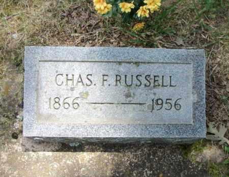 RUSSELL, CHARLES F. - Texas County, Missouri   CHARLES F. RUSSELL - Missouri Gravestone Photos