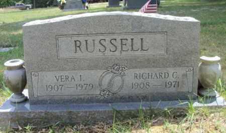 RUSSELL, RICHARD C. VETERAN WWII - Texas County, Missouri | RICHARD C. VETERAN WWII RUSSELL - Missouri Gravestone Photos