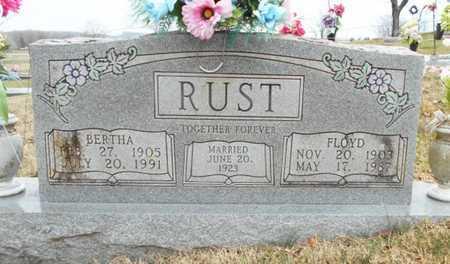 RUST, BERTHA - Texas County, Missouri | BERTHA RUST - Missouri Gravestone Photos