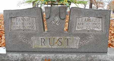 "RUST, MARY FRANCES ""FANNIE"" - Texas County, Missouri | MARY FRANCES ""FANNIE"" RUST - Missouri Gravestone Photos"