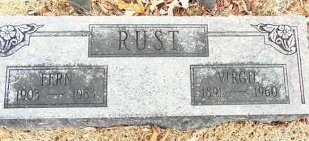 RUST, FERN - Texas County, Missouri | FERN RUST - Missouri Gravestone Photos