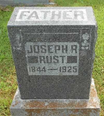 RUST, JOSEPH R. - Texas County, Missouri | JOSEPH R. RUST - Missouri Gravestone Photos
