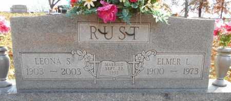 RUST, LEONA SADIE - Texas County, Missouri | LEONA SADIE RUST - Missouri Gravestone Photos