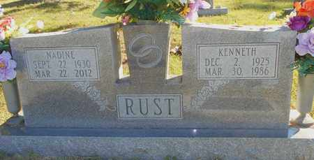 RUST, KENNETH - Texas County, Missouri | KENNETH RUST - Missouri Gravestone Photos