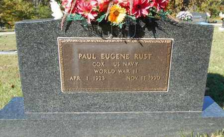 RUST, PAUL EUGENE VETERAN WWII - Texas County, Missouri | PAUL EUGENE VETERAN WWII RUST - Missouri Gravestone Photos