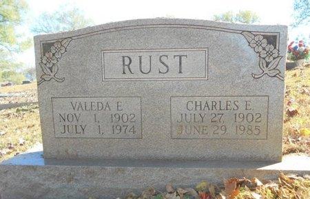 RUST, VALEDA E. - Texas County, Missouri   VALEDA E. RUST - Missouri Gravestone Photos