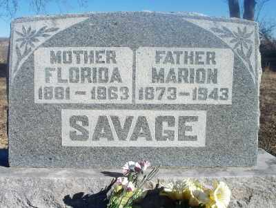 SAVAGE, MARION - Texas County, Missouri | MARION SAVAGE - Missouri Gravestone Photos