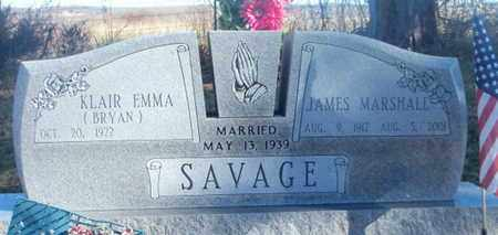 SAVAGE, JAMES MARSHALL - Texas County, Missouri | JAMES MARSHALL SAVAGE - Missouri Gravestone Photos