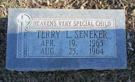 SENEKER, TERRY L. - Texas County, Missouri   TERRY L. SENEKER - Missouri Gravestone Photos